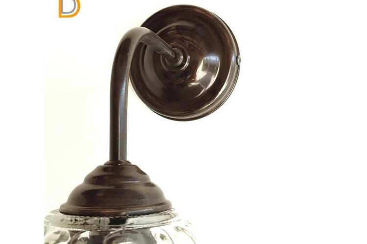 (איילה)מנורת קיר עם זכוכית -מנורה ליד המיטה-מנורה לסלון-גופיי תאורה מעוצבים-גופי תאורה מיוחדים-גופי תאורה לד-מנורת קריאה