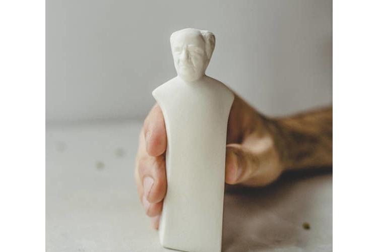 בן גוריון, מלחיה פלפליה, מלח פלפל, מלחיות מעוצבות, מלחיה בעבודת יד, מלחיה מקרמיקה, אומנות ישראלית