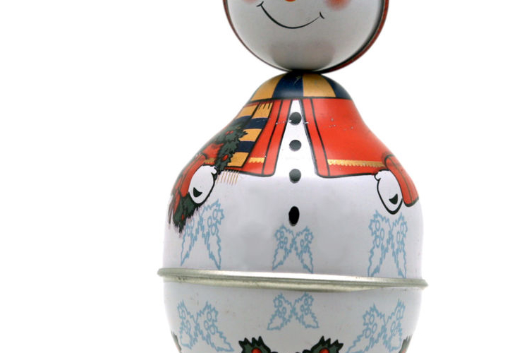 בובת נחום תקום  איש שלג  