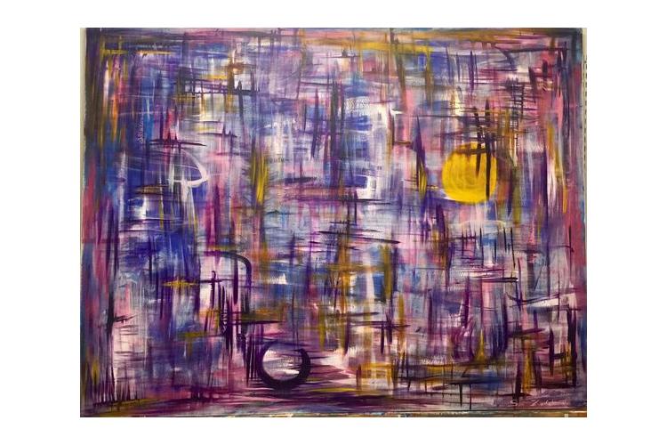 ציור #25 - 1.70x1.30