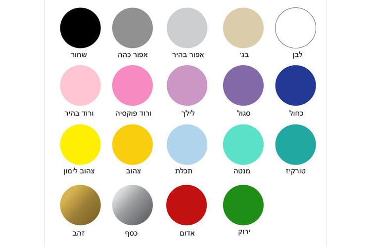 מדבקות קיר נקודות צבעים | מדבקות לחדר ילדים | מדבקות לחדר תינוקות | מדבקות קיר | עיצוב חדר ילדים | מדבקות לילדים