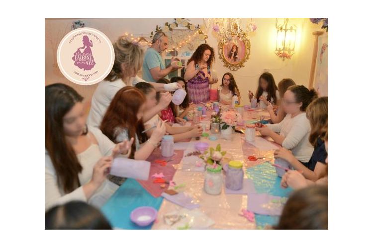 הפעלת יום הולדת יצירה, הפעלת יומולדת חד קרן לבנות, יום הולדת הכל כלול, הפעלת יום הולדת בנות קסומה