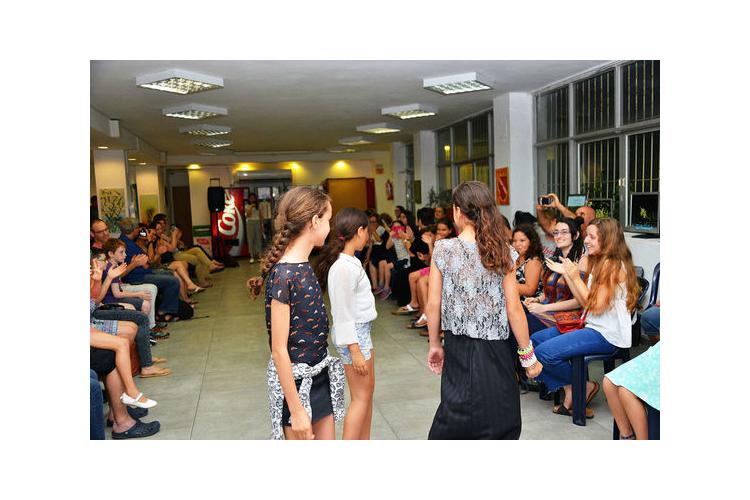 סדנת טרנדים : עיצוב אופנה ותפירה , לנערות