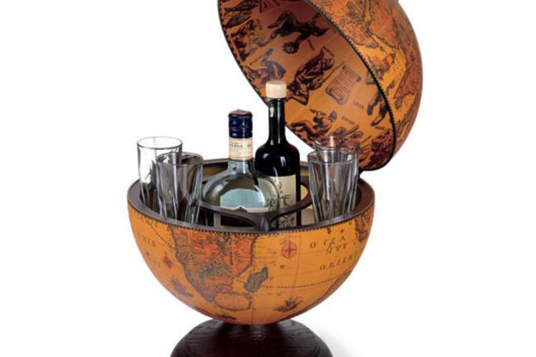 גלובוס בר משקאות שולחני Columbus