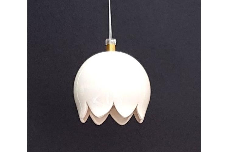 מנורת כדור מקרמיקה, קטנטנה לבנה