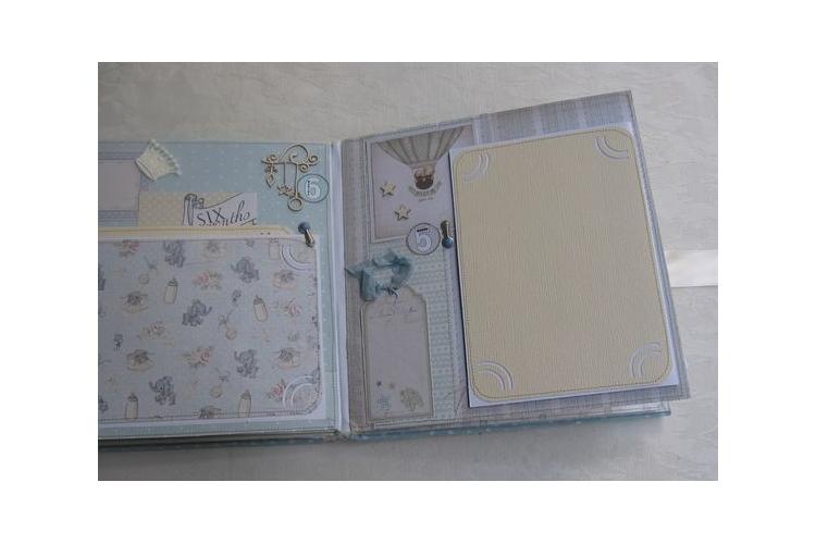 אלבום לנסיך קטן / אלבום לתינוק דגם נסיך / אלבום שנה ראשונה