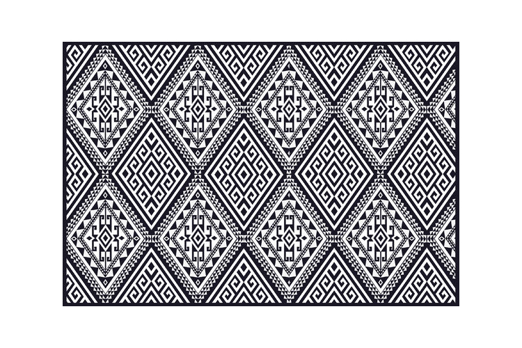 שטיח ויניל דגם גיאומטרי| שטיח pvc מעוצב