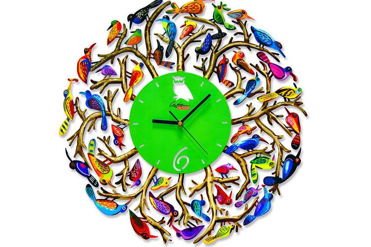 שעון קיר NATURE TIME   דוד גרשטיין