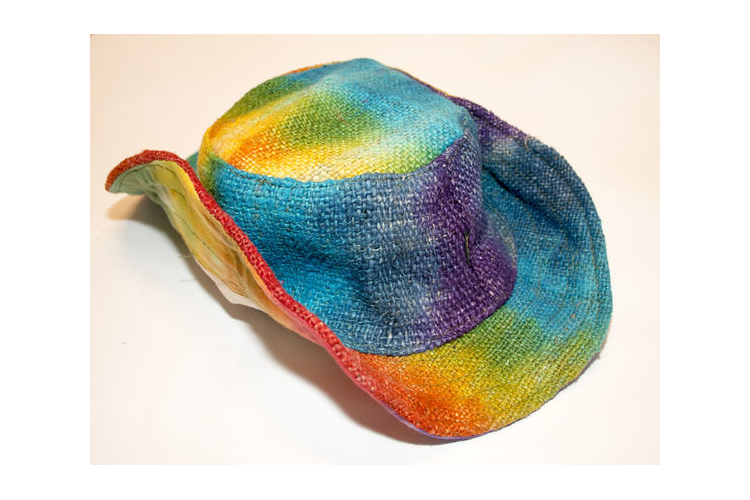 כובע שמש צבעוני מהמפ - כובע קיץ צבעוני