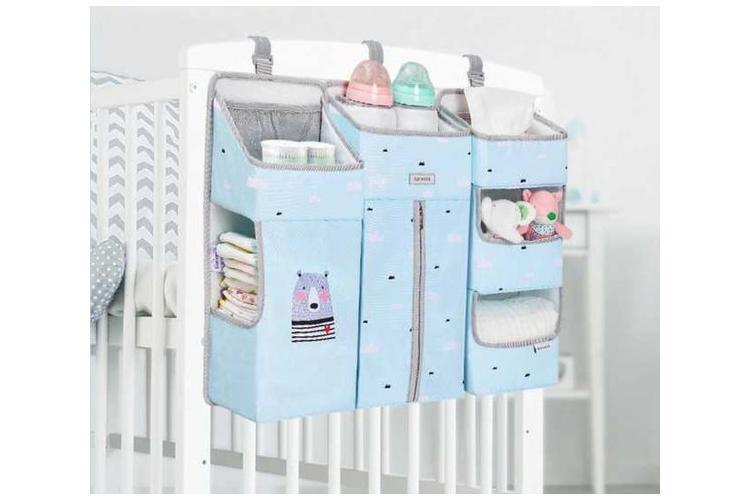 ארגונית לתינוק | ארגונית למיטת תינוק תכלת