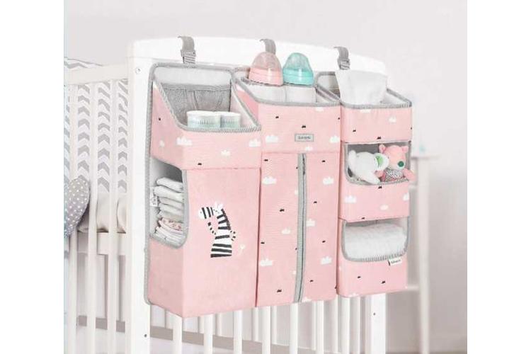 ארגונית לתינוק | ארגונית למיטת תינוק ורוד