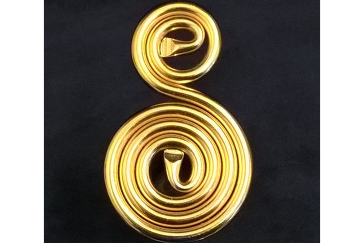 תליון אנרגטי אישי - ציפוי זהב