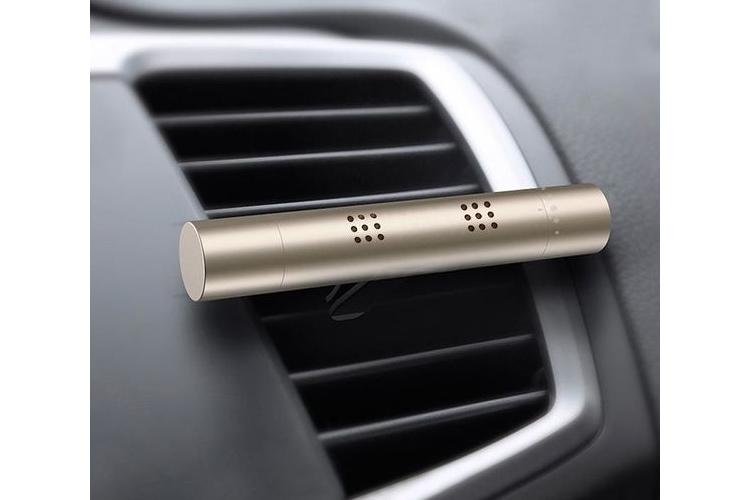 מפיץ ריח רב פעמי לרכב מוזהב 6 מקלות ריח