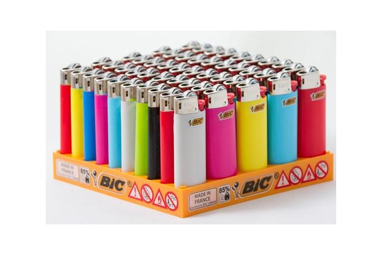 חבילת מציתים (50 יחידות) של BIC- צבעים אקראיים