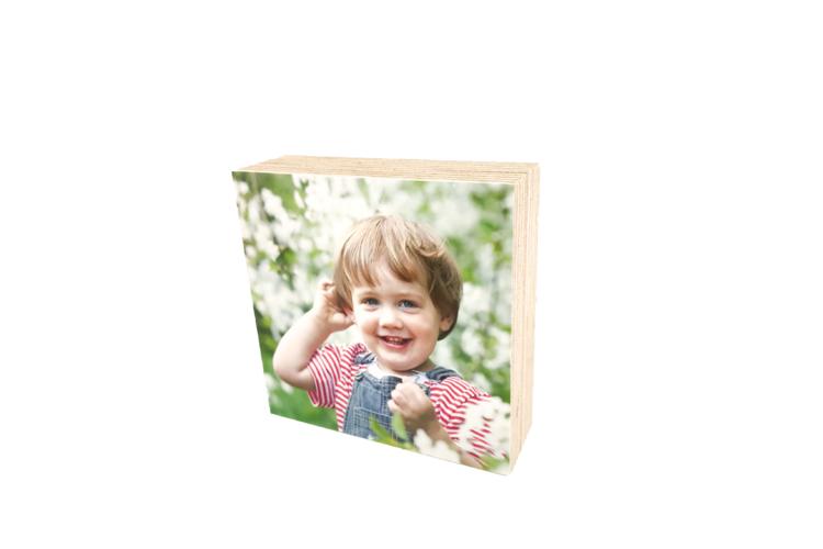 תמונה על עץ | בלוק עץ מודפס | אינסטה בלוק | עץ 9*9 |