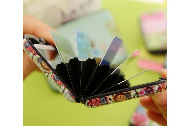 ארנק נרתיק כרטיסים לתיק / ארנק לכרטיסים / ארנק לכרטיסי אשראי / נרתיק כרטיסי חבר / כרטיסי מועדון
