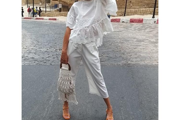 מכנס לבן