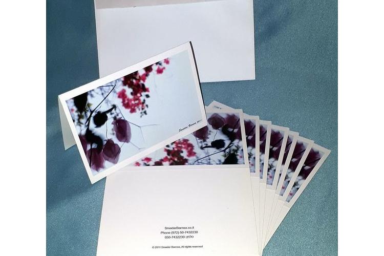 כרטיס ברכה אמנותי | הזמנה ייחודית | ברכה עם צילום אמנותי