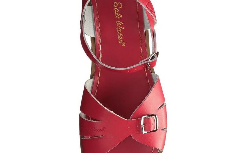 סנדלי SALT WATER - דגם קלאסיק אדום - נשים