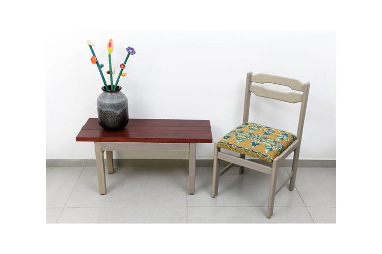 כסא מרופד | כסא מעוצב | כסא וינטג' מעוצב |