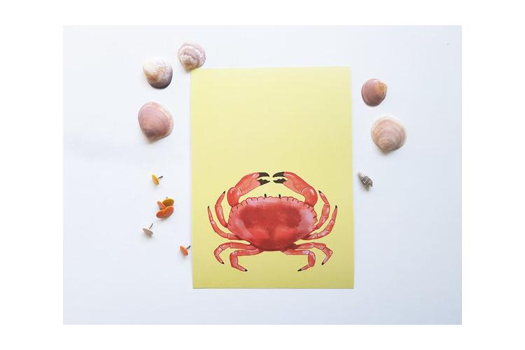 הדפס למסגור - חיית ים