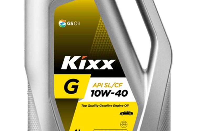 שמן חצי סינטטי SL 10W40 GOLD4 ליטר KIXX