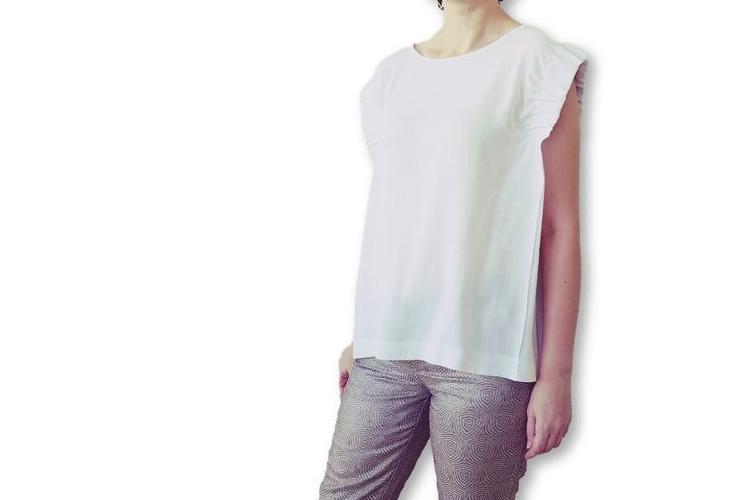 חולצה לבנה מכותנה | חולצה חגיגית | חולצה מיוחדת
