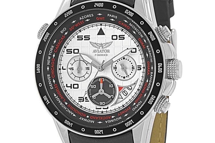 שעון לגבר של חברת אוויאטור דגם G58