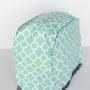 אזל- כיסוי מעוצב למיקסר תלתן טורקיז לבן, מתנה למטבח החדש, מתנה לראש השנה