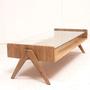 שולחן סלון VIGO אלון לבן