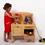 מטבח עץ לילדים
