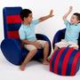 ספה לילדים - פלייסטיישן - אדום כחול