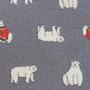 כרית גדולה לחימום במיקרוגל I כרית חימום לילדים ולילדים ברוחם I כרית חימום מכותנה בהדפס דובים מקסימים I כרית חימום טבעית עם פרחי לבנדר I