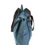חדש!!! | תיק צד |רותם כיסים כחול ים | רצועות עור| משלוח חינם!!!