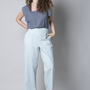מכנס גומי - מכנס רחב - מכנס כותנה - מכנס לעבודה - מכנס למשרד - מכנס ליומיום.
