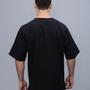 חולצת גברים מכותנה עם שרוול קצר