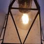 תאורה גדולה מעוצבת סגנון תעשייתי וינטאז לנורה פחם סילבינה
