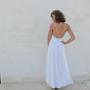 שמלת כלה בוהו שיק פאייטים כסף וזהב