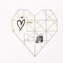 לוח השראה,לוח משרדי,לוח מודעות מעוצב,לב רשת לקישוט,