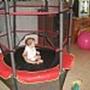טרמפולינה מיני לילדים מגיל שנה עד 6