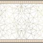 שטיח ויניל דגם זהב | שטיח pvc | שטיח פי וי סי לבית