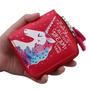 ארנק חד קרן | הדפס צבעוני unicorn | נרתיק קטן | ארנק לילדות | מתנה מקורית לחברה | חד קרן | אקססוריז לבנות