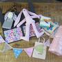 מארז מתנה ללידה, מארז מתנה לתינוק, סלסלת שי ליולדת, מתנה ללידה, מוצרי טקסטיל לתינוקות