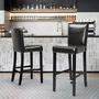 זוג כסאות בר יוקרתי דגם נילסן מבית HOMAX