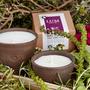 "LUM Relax - נרות טבעיים עם מיצוי צמחי מרפא לשלווה ושינה ערבה 150 מ""ל"
