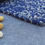 שטיח טריקו קטן | שטיח מלבני סרוג | שטיחון עבודת יד | שטיחון סרוג | שטיחון למטבח | שטיחון לחדר שינה | שטיח ליד המיטה | שטיחים סרוגים
