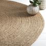 שטיח עגול,שטיח יוטה טבעי,שטיח מעוצב,שטיחים לבית