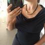 שרשרת עור לאישה | שרשרת עור קצרה | שרשרת עור וזהב | שרשרת עור וספירלה | שרשרת חוטי עור לאישה | שרשרת חוטים שחורים