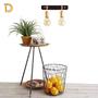 (מירה) מנורת קיר מעוצבת שתי זרועות בצבע זהב שחור-גוף תאורה שתי זרועות מוזהב-מנורה מעוצבת