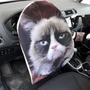 כיסוי להגה   כיסוי הגה לרכב   כיסוי נגד השמש   כיסוי בעיצוב אישי - דגם חתול